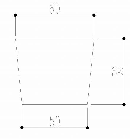 自動調整寸法のサンプル